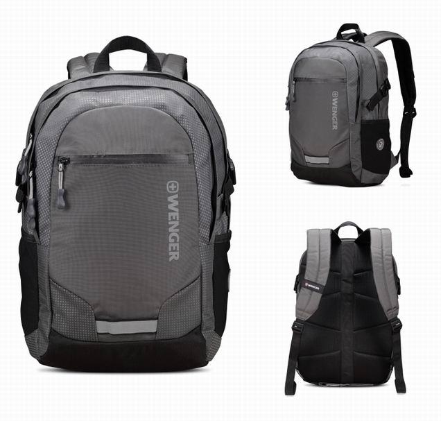 威戈电脑包双肩背包男女户外旅行背包15寸休闲背包企业员工福利必威体育首页